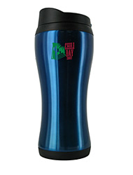 14 oz stainless steel blue urbana travel mug14 oz stainless steel blue urbana travel mug