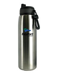 26 oz silver quench stainless steel sports bottle26 oz silver quench stainless steel sports bottle