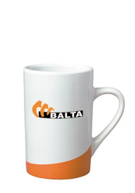 12 oz beaverton color curve mug - orange12 oz beaverton color curve mug - orange
