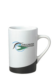 12 oz beaverton coffee mug - black
