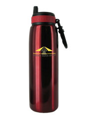 26 oz red quench stainless steel sports bottle26 oz red quench stainless steel sports bottle