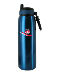 26 oz blue quench stainless steel sports bottle26 oz blue quench stainless steel sports bottle