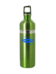 26 oz green kodiak stainless steel sports bottle