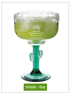 16 oz Libbey custom designed cactus margarita glass16 oz Libbey custom designed cactus margarita glass