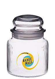 16 oz twirl jar w/ dome lid
