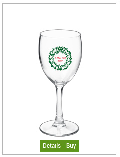 Personalized 8.5 oz Nuance Wine GlassesPersonalized 8.5 oz Nuance Wine Glasses
