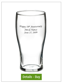 16 oz Libbey personalized pub glass