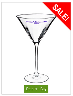 10 oz connoisseur martini glass