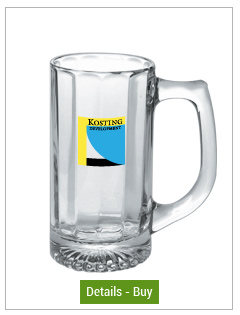 13 oz distinction personalized glass mug13 oz distinction personalized glass mug