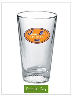 Football Pint Glasses - 16 oz Mixing GlassFootball Pint Glasses - 16 oz Mixing Glass