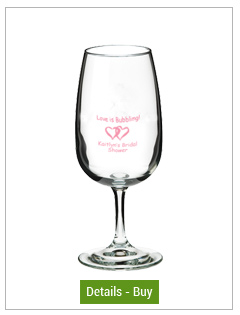 10.5 oz Libbey mini wine glass - wine taster