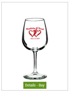 12.75 oz Libbey Wedding  wine tasting glass12.75 oz Libbey Wedding  wine tasting glass