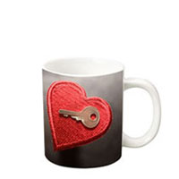 11 oz c-handle mug -  white c-handle