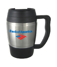 16 oz highlander travel mug - black