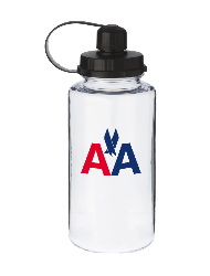34 oz mckinley sports bottle - clear