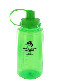 34 oz mckinley sports water bottle - green