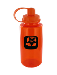 34 oz mckinley sports bottle - orange