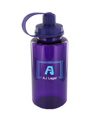 34 oz mckinley sports bottle - purple