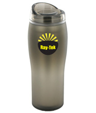 14 oz optima matte surface travel mug - smoke