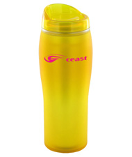 14 oz optima matte surface travel mug - yellow14 oz optima matte surface travel mug - yellow