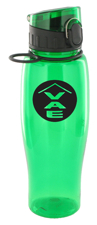 24 oz quenchers polycarbonate bottle - green