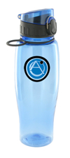 24 oz quenchers polycarbonate bottle - light blue24 oz quenchers polycarbonate bottle - light blue