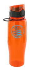 24 oz quenchers polycarbonate bottle - orange24 oz quenchers polycarbonate bottle - orange