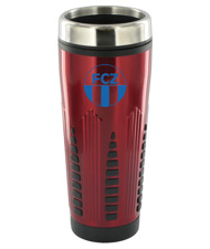 16 oz rocket stainless steel insulated travel mug - red16 oz rocket stainless steel insulated travel mug - red