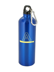25 oz trek aluminum sports bottle - blue25 oz trek aluminum sports bottle - blue