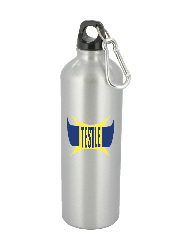 25 oz trek aluminum sports bottle - silver25 oz trek aluminum sports bottle - silver