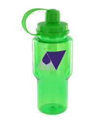 22 oz yukon polycarbonate bottle - green