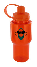 22 oz yukon polycarbonate bottle - orange