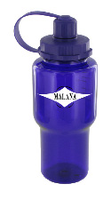 22 oz yukon polycarbonate bottle - purple
