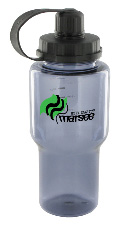 22 oz yukon polycarbonate bottle - smoke