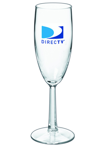 Logo Custom Flute Glasses - 6 oz Grand Noblesse