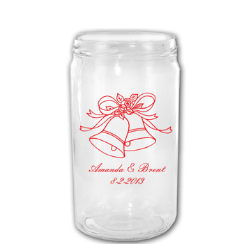 16 oz Libbey Personalized Mason Drinking Jar
