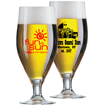 16 oz Cervoise promotional Beer Glass