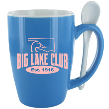 16 oz. Celestial Blue Ursa Endeavour Spoon Mug