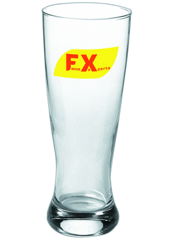 20 oz Promotional Pub Pilsner beer glass