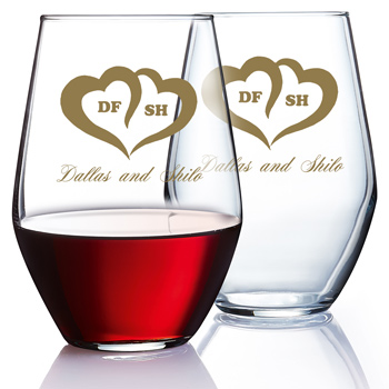 19 oz Concerto stemless goblet wine glass