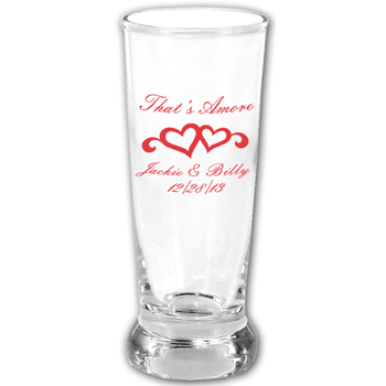 2.5 oz Mini Pilsner Shot Glass