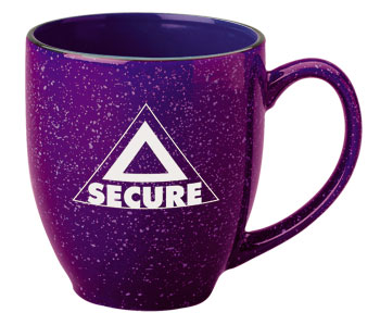15 oz speckled new mexico bistro mug - plum