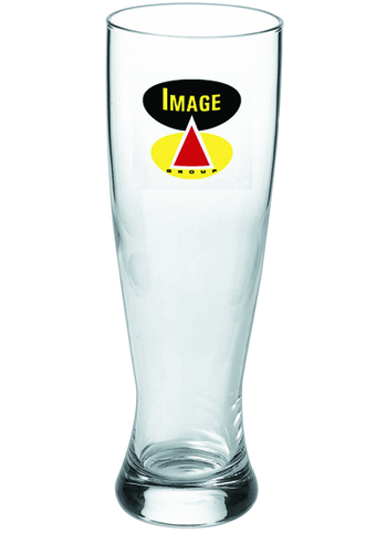 16 oz Pub Pilsner custom printed beer glass