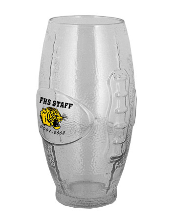 Football Tumbler. 22 oz Custom Printed