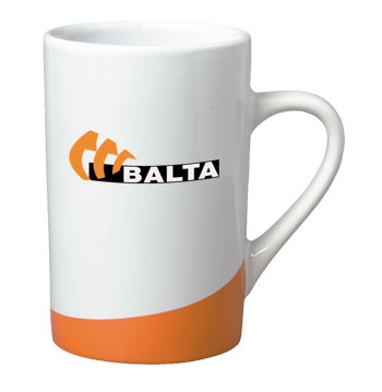 12 oz beaverton color curve mug - orange