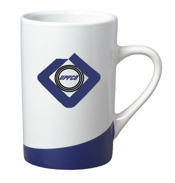 12 oz beaverton color curve mug - cobalt blue