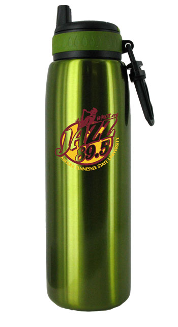 26 oz green quench stainless steel sports bottle