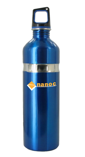 26 oz blue kodiak stainless steel sports bottle