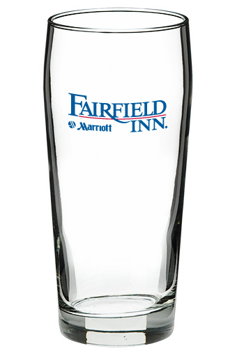 Personalized Beer Glass  - 20 oz willi becher