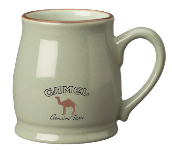 15 oz speckled country style mug - sea foam green